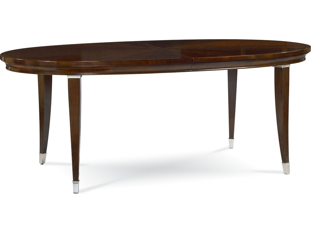 Thomasville Dining Room Oval Dining Table 82221 751 Indian River Furniture
