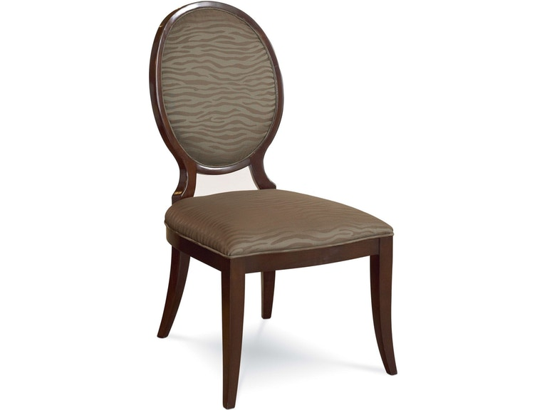 Thomasville Dining Room Upholstered Side Chair 4848 Watts Gorgeous Comfort Furniture Galleries Style