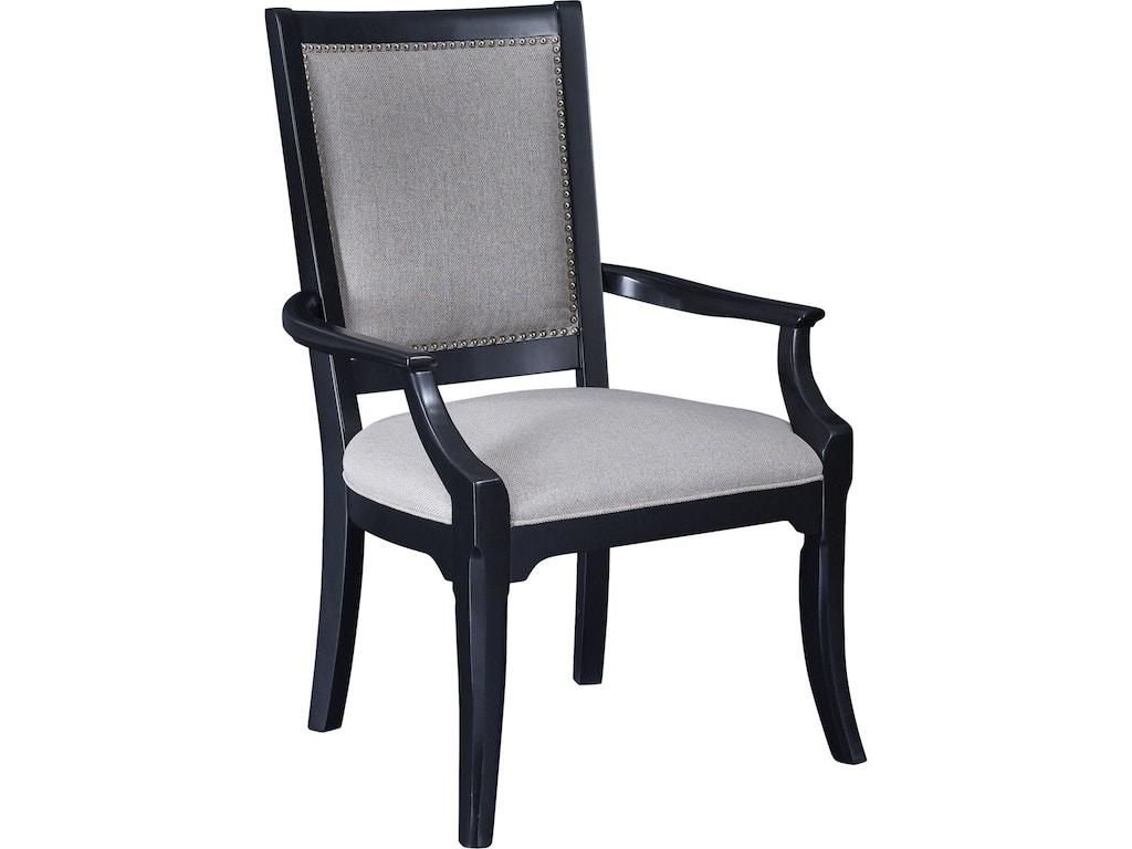 Thomasville dining room arm chair 82925 872 lenoir for Dining room johnson city tn