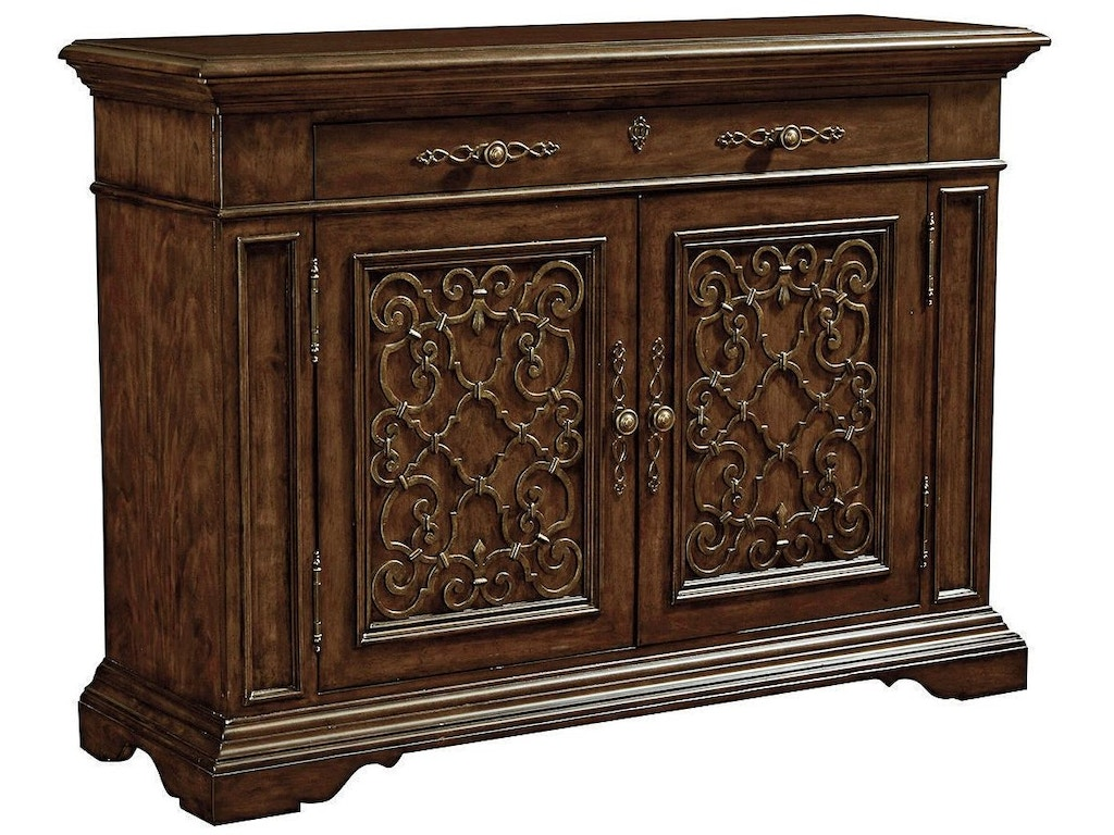 Thomasville 84421 120 brasserie buffet interiors camp for Sideboard 120