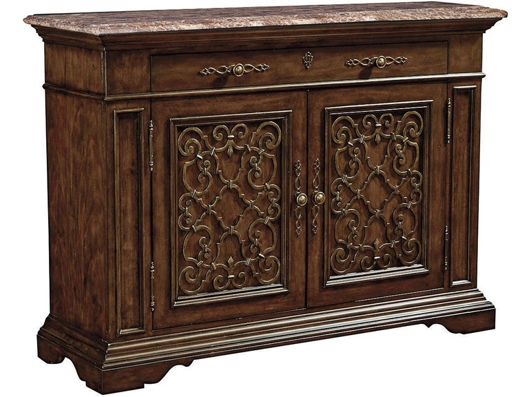Thomasville Brasserie Buffet Marble Top 84421 121