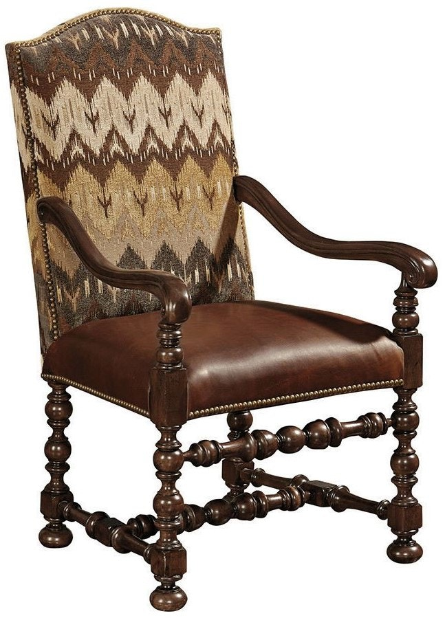 Thomasville Dining Room Maestro Upholstered Arm Chair  : 84421 892 from www.hickoryfurniture.com size 1024 x 768 jpeg 59kB