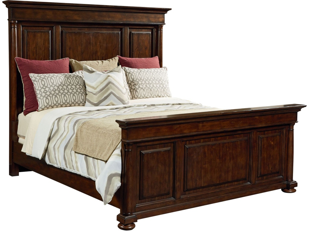 Thomasville bedroom panel bed queen 84511 435 hickory for Bedroom furniture hickory nc