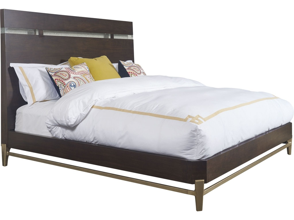 Thomasville bedroom leah platform bed queen 84711 435 for Q furniture and mattress beaumont tx