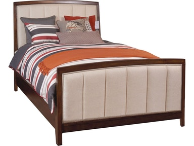Thomasville bedroom upholstered panel headboard queen for Q furniture beaumont texas