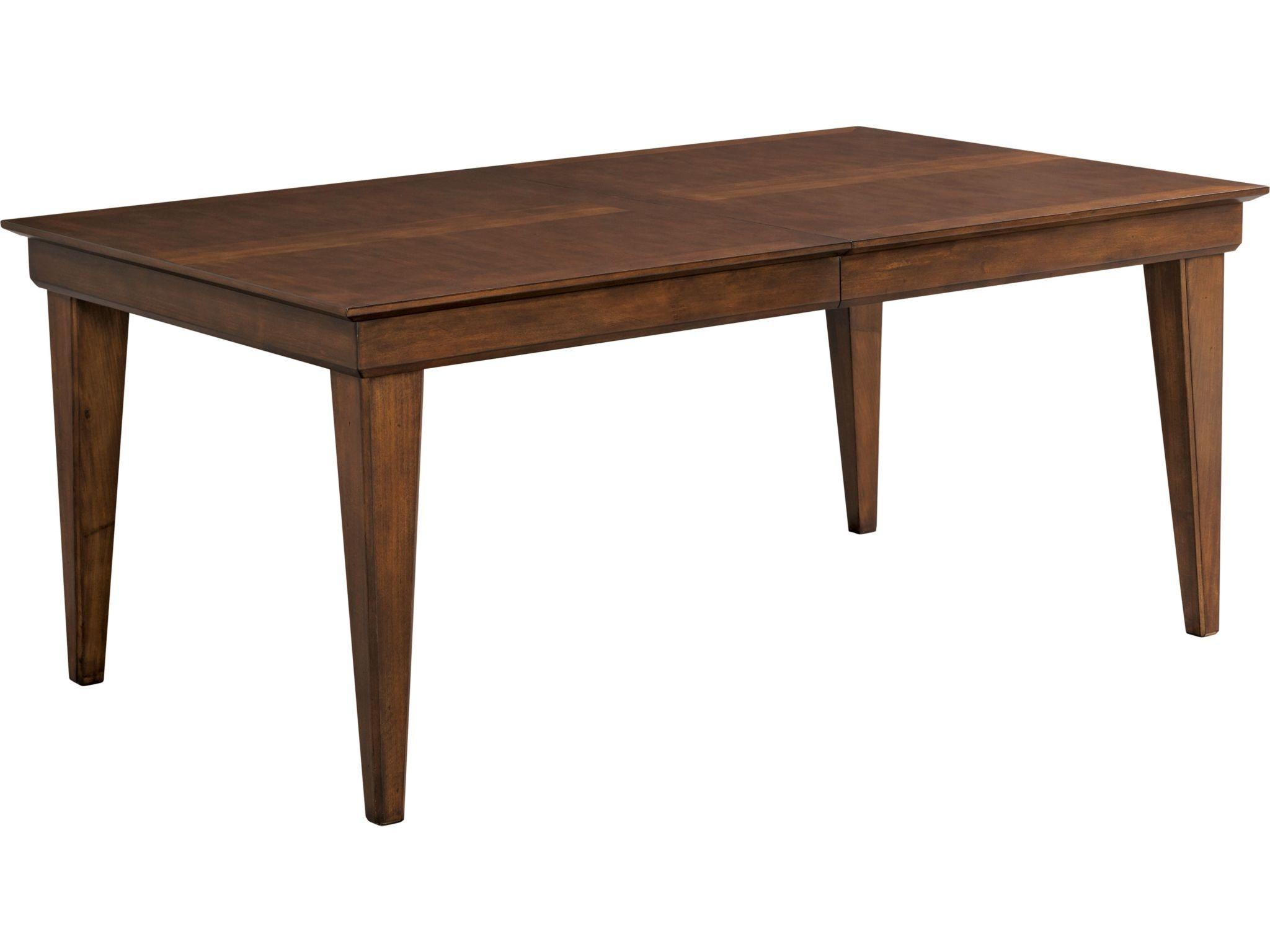 Thomasville Dining Room Leg Table 85221 752 Penn Furniture Scranton Pa  Thomasville Kitchen Tables