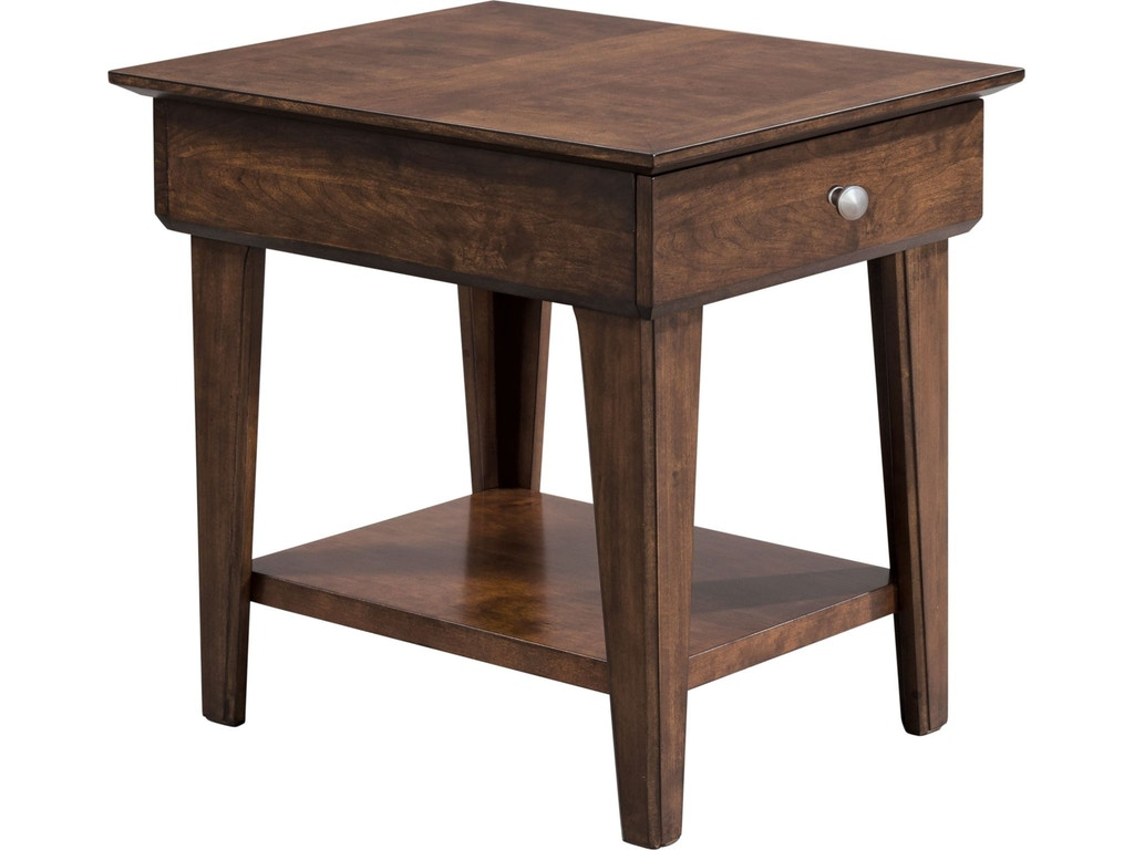 Thomasville Living Room Drawer End Table 85231 210