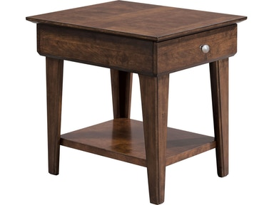 Thomasville living room drawer end table 85231 210 howell furniture beaumont and nederland - Thomasville kitchen table ...