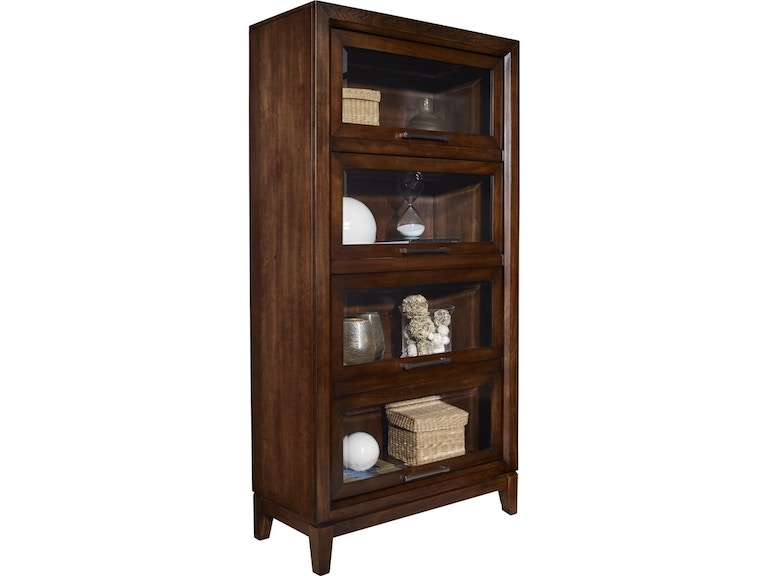thomasville home office tall lawyer bookcase 85231 616 at howell