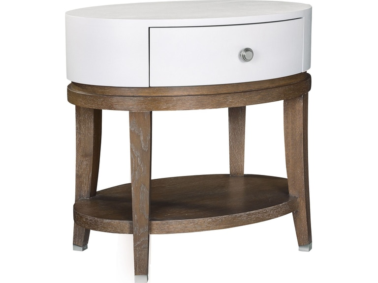 Thomasville Luciana Oval Bedside Table 85311 805