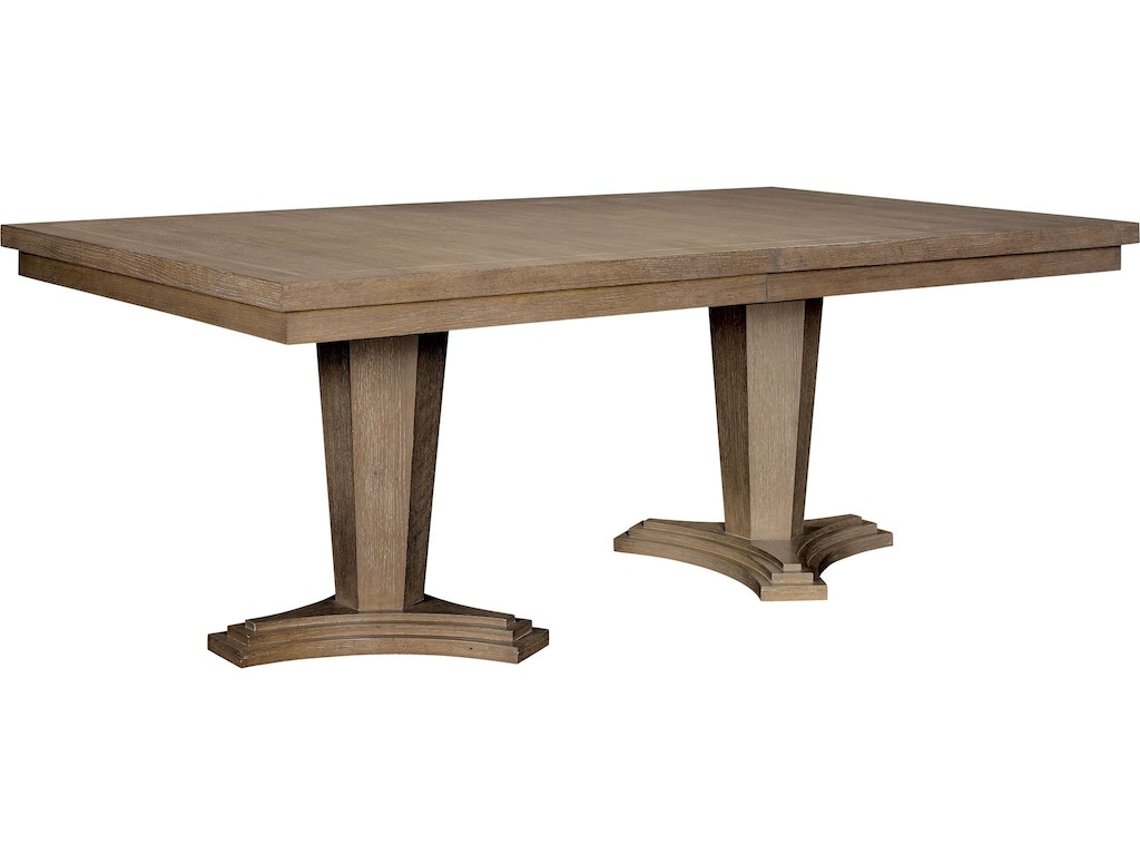 Thomasville Dining Room Rockingham Dining Table 85321 772 Woodbridge Interi