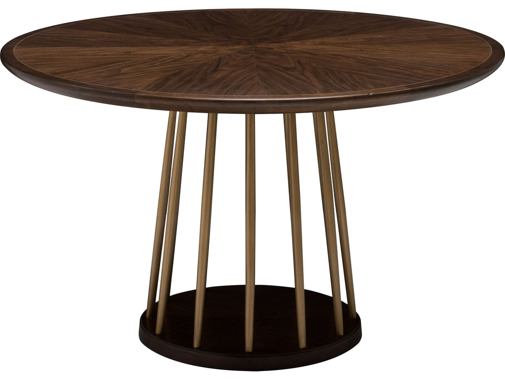 Thomasville dining room lafitte round dining table 85821 for Dining room tables milwaukee