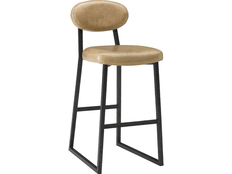 Thomasville Bar And Room Alhambra Metal Leather Stool 85821 877 At Hollberg S Fine Furniture