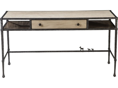 Thomasville Bonnabel Metal and Stone Desk 85891-625