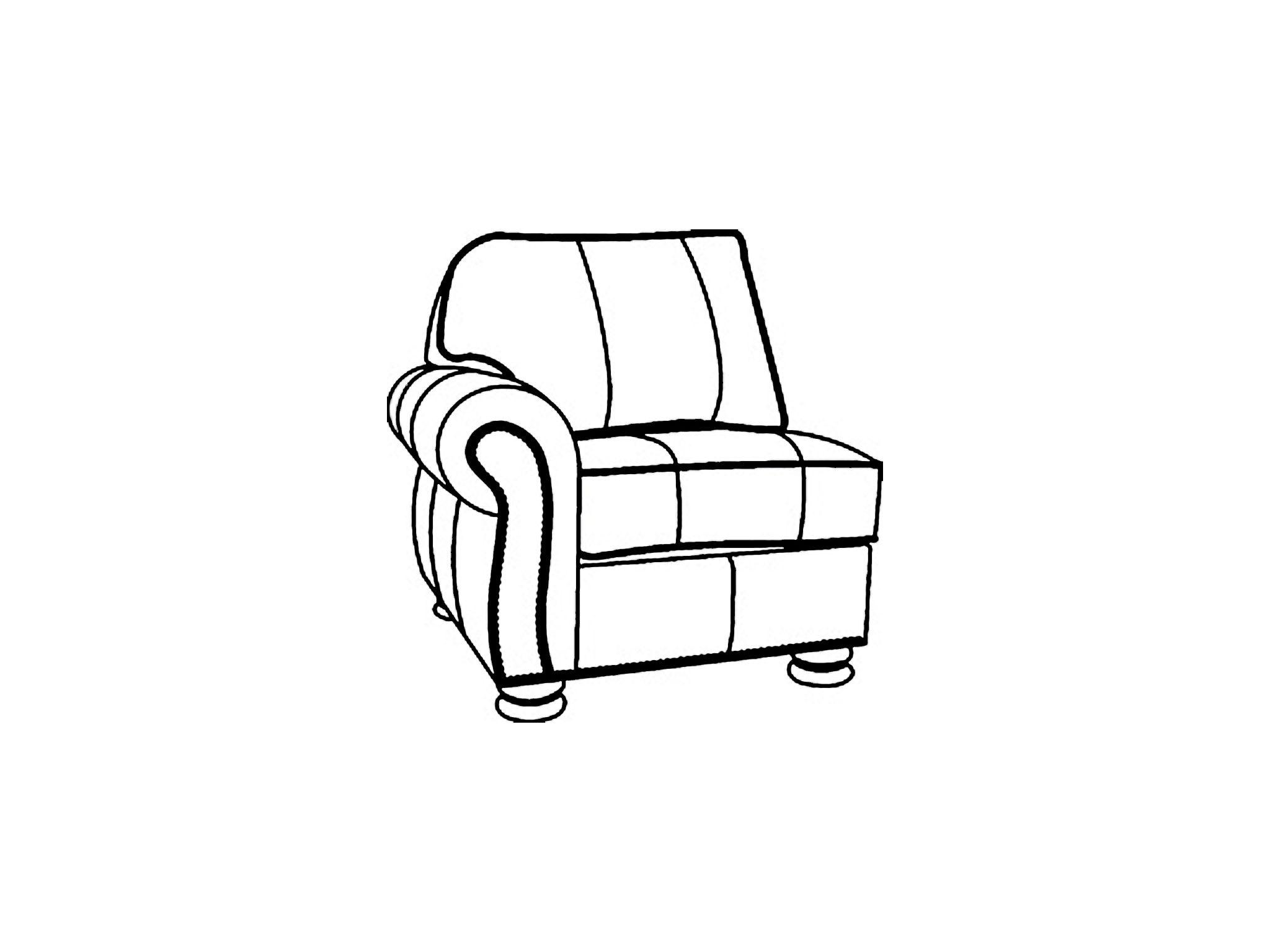 Thomasville Benjamin Left Arm Chair HS1461 L25
