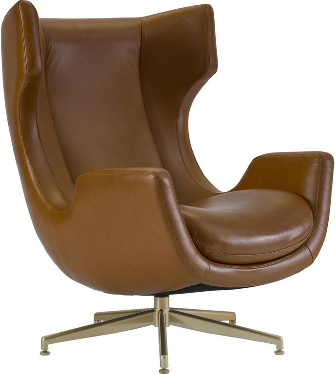 Incredible Thomasville Living Room Dohney Swivel Chair Saddle Leather Caraccident5 Cool Chair Designs And Ideas Caraccident5Info