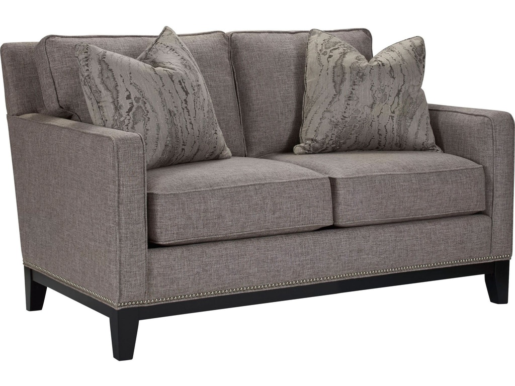 Thomasville Living Room Markham Loveseat Impressions T100 14 Hickory Furniture Mart