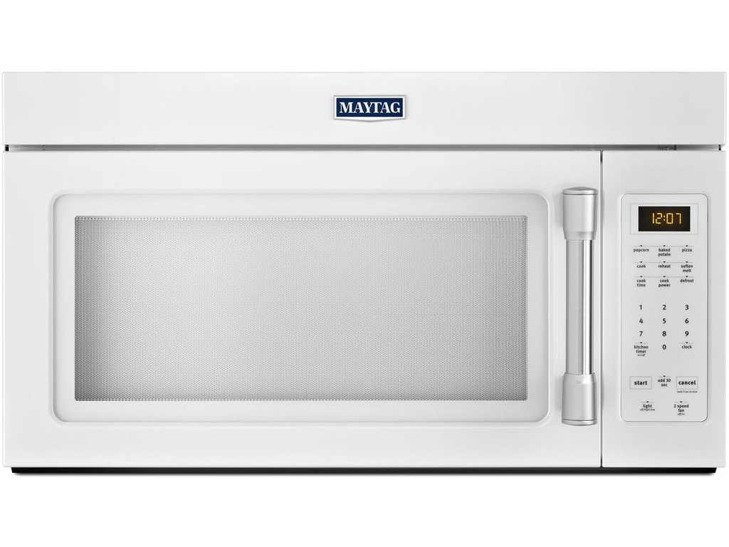 Maytag Kitchen 1 7 Cu Ft Compact Over The Range Microwave