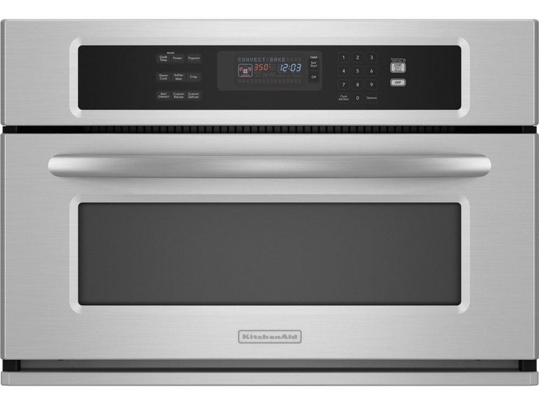 Kitchenaid Architect 174 Series Ii Convection Microwave Kbhs109sss