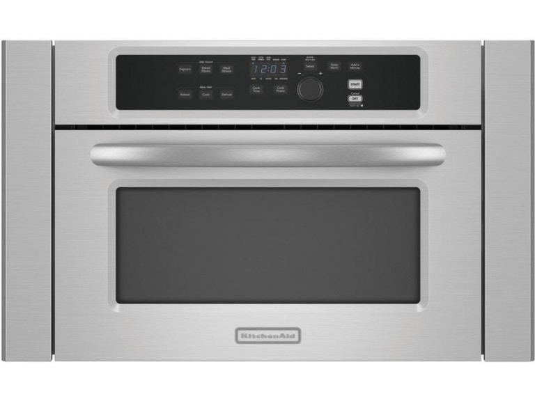 Kitchenaid 24 Architect 174 Series Ii Built In Microwave Kbms1454sss