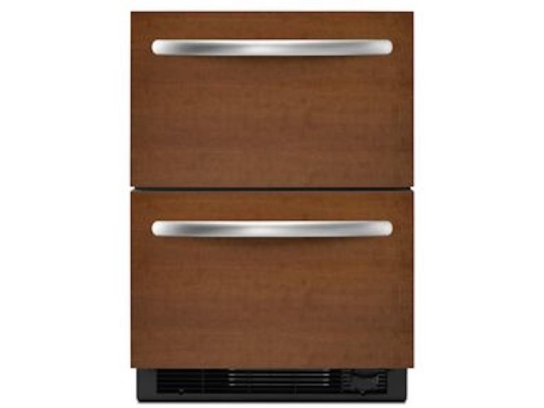 KitchenAid Architect II Double-Drawer Refrigerator KDDO24CVX ...