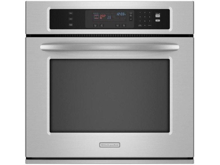 Kitchenaid 30 Architect 174 Series Ii Wall Oven Kebk101sss