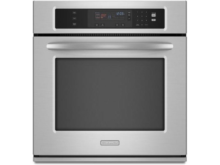 Kitchenaid 27 Architect 174 Series Ii Wall Oven Kebk171sss