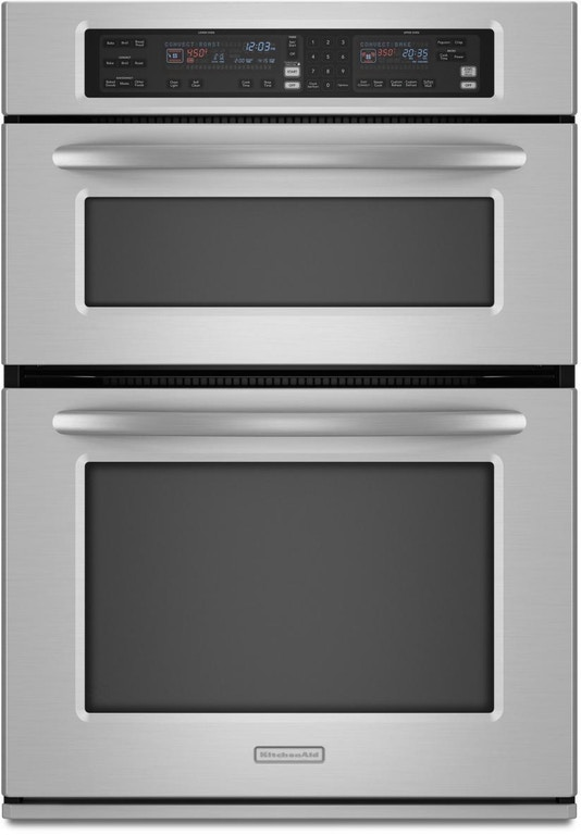 Kitchenaid 30 Built In Microwave Combination Oven Kems308sss