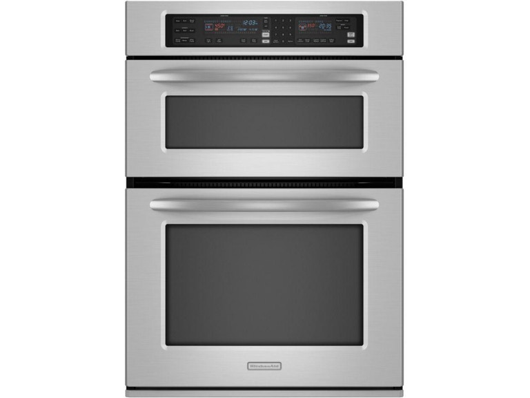 Kitchenaid 27 Self Clean Combo Microwave Kems378sss