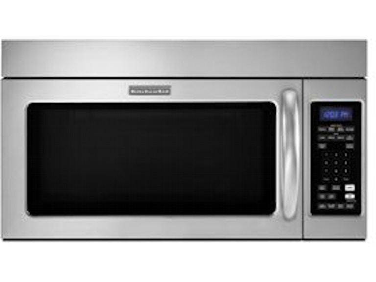 Kitchenaid 30 Over The Range Microwave Khms2040wss Daws Home