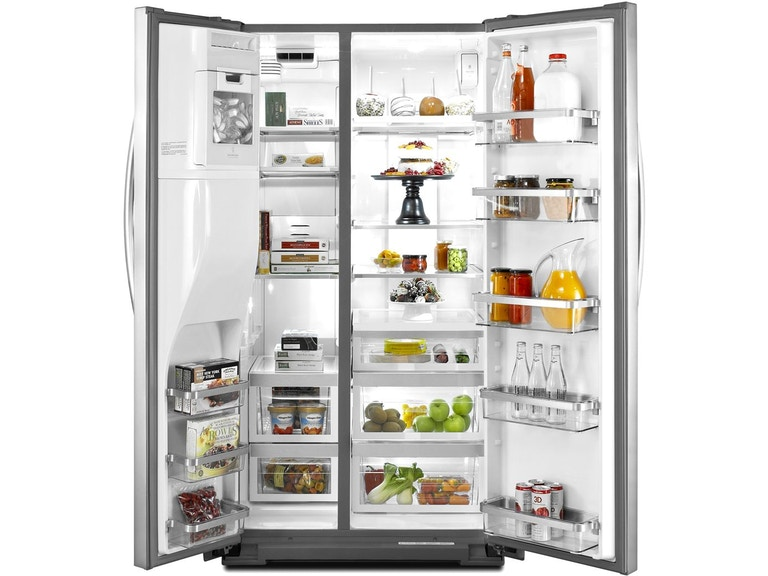 KitchenAid Side By Side Refrigerator KSF26C6XYY - Sides ...
