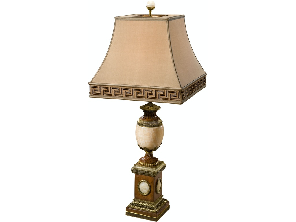 Theodore Alexander Lamps And Lighting The Cabochon Lamp Th2021709 Walter E Smithe Furniture Design
