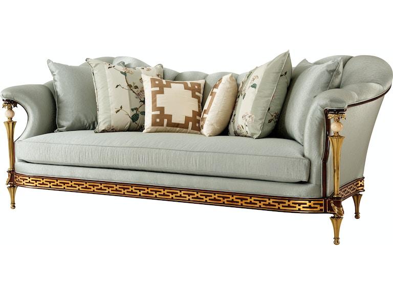 Theodore Alexander Living Room Beauharnais Sofa 4500 079 Fml 0asu