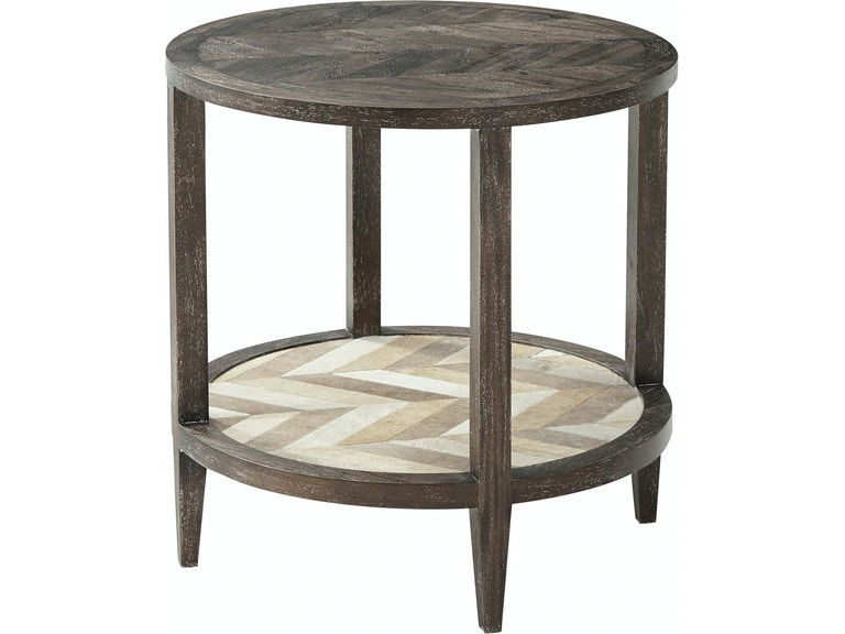 Theodore Alexander Living Room Marco Accent (Round) 5000-635 ...