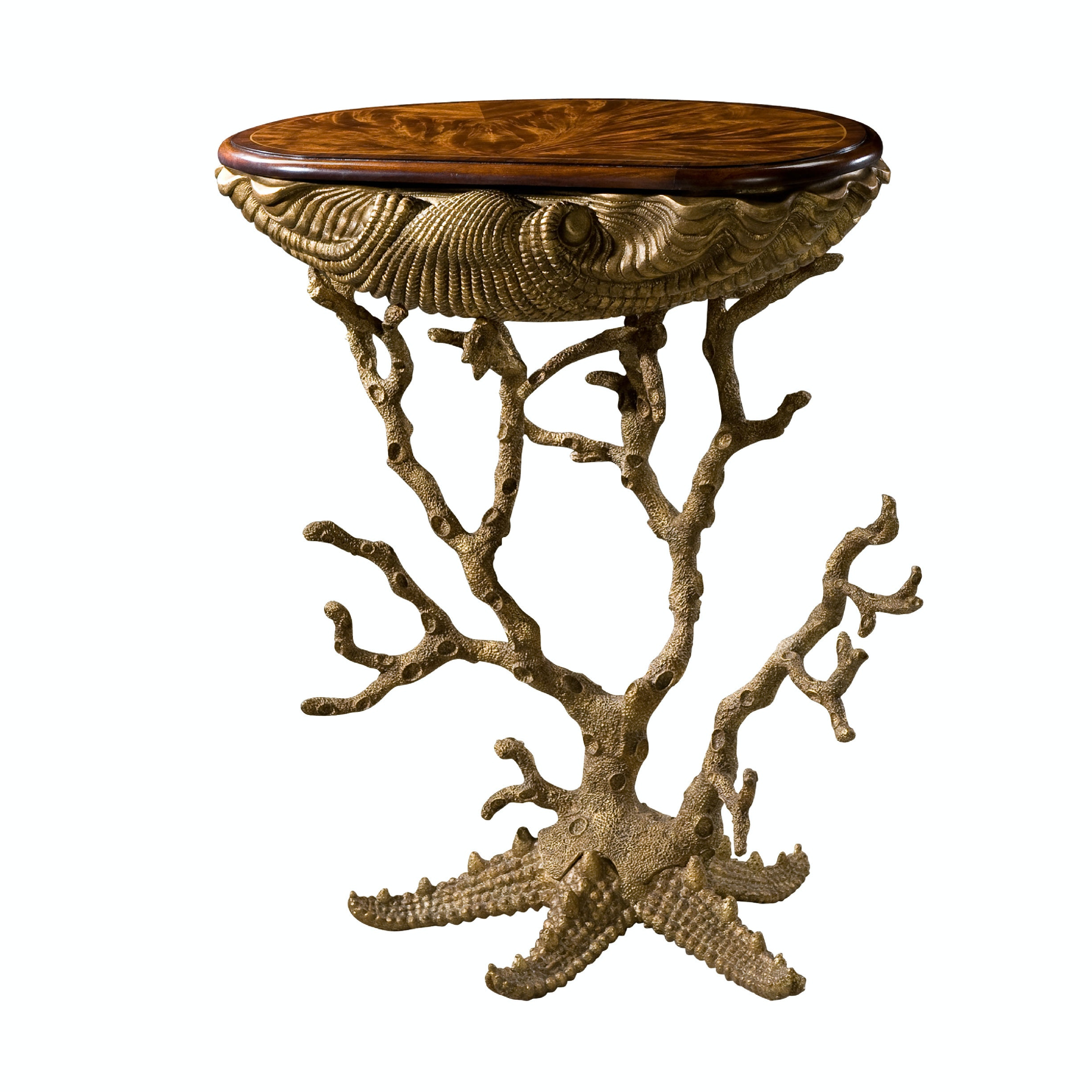 Amazing Theodore Alexander Gilt Grotto Table TH5325001 From Walter E. Smithe  Furniture + Design