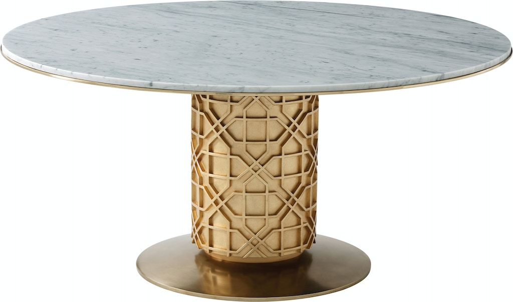 Theodore Alexander Dining Room Colter Dining Table 5442 013 Stacy Furniture Grapevine Allen