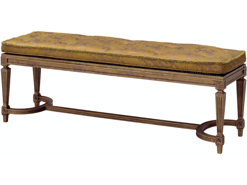Theodore Alexander Living Room Grant, Bench 9921-C