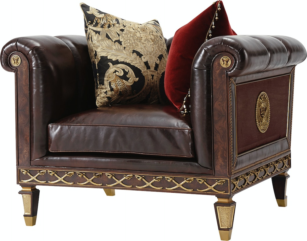 Theodore Alexander Living Room Lydia Upholstered Chair AL42055.3AEQ ...