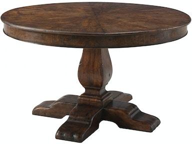 Theodore Alexander Dining Room Victory Oak Jupe Ii Al54038