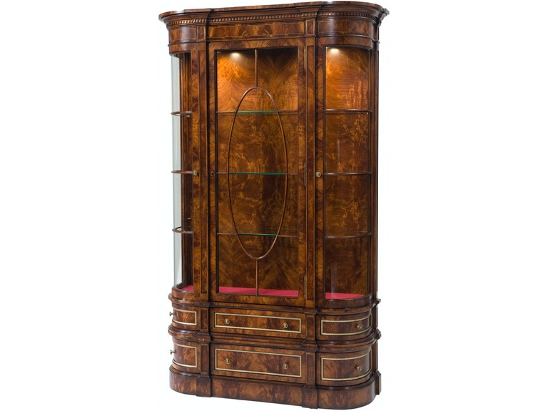Theodore Alexander Gothic Library Display Cabinet Al61077