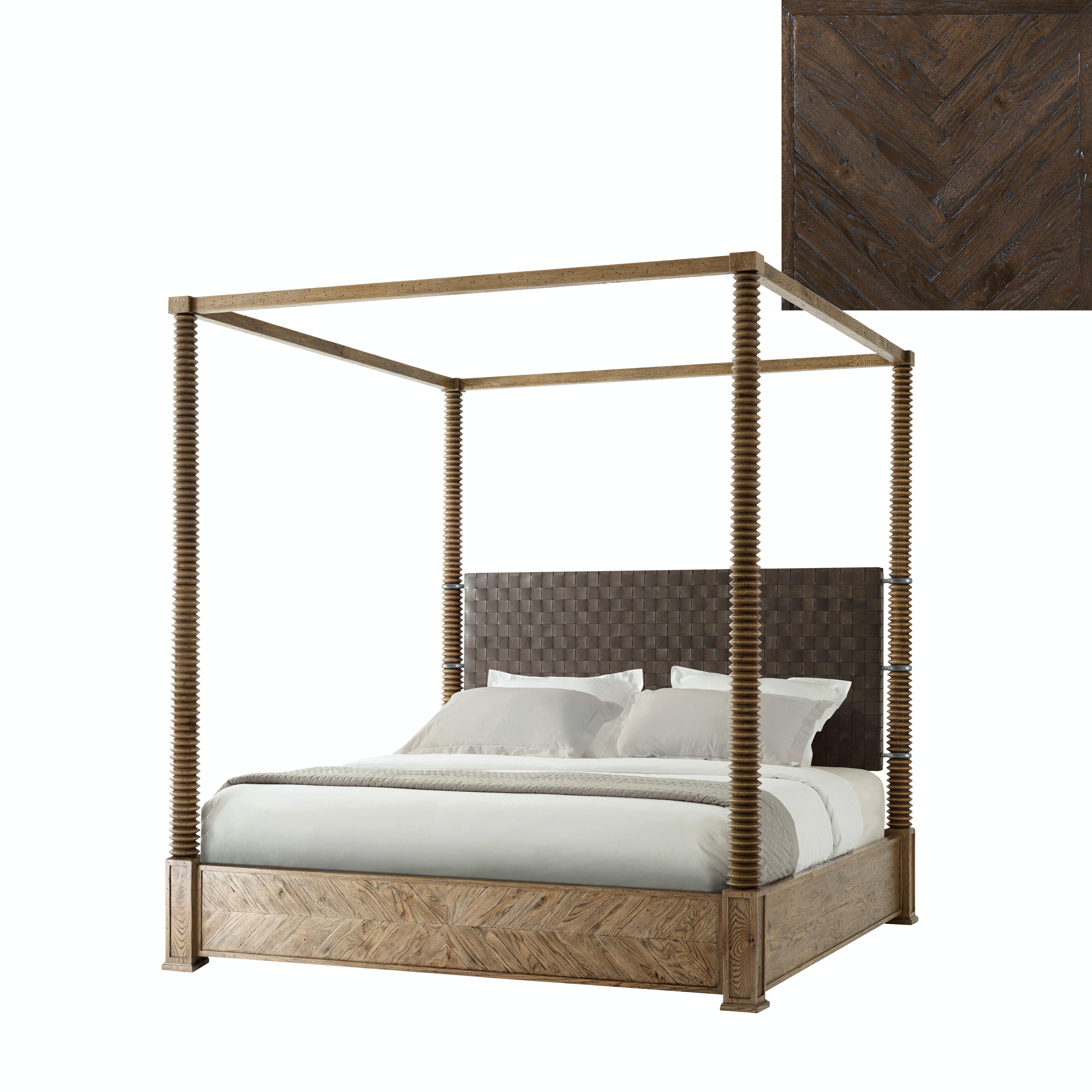 Theodore Alexander Bedroom Weston Bed Us King Cb83004 C075 Oasis