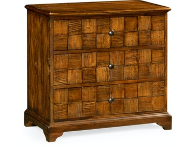 Jonathan Charles Country Walnut Small Chest Of Drawers 491013-CFW