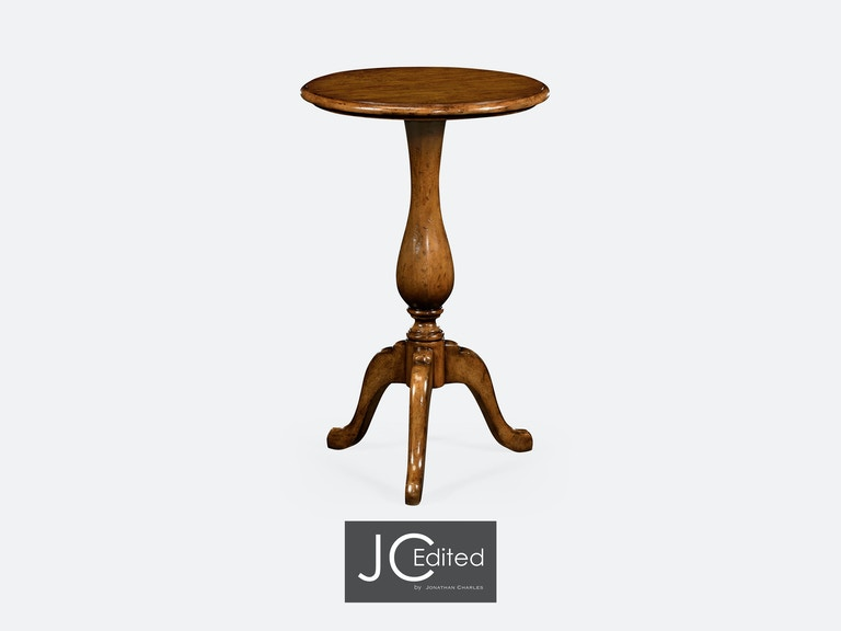 Country Walnut Tall Cocktail Table Qj491016cfw