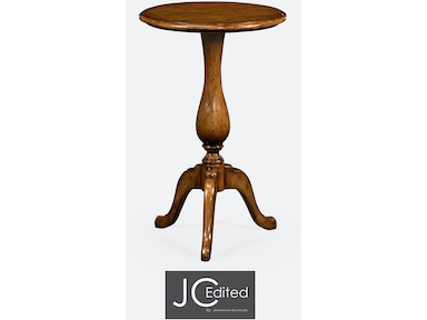 Jonathan Charles Country Walnut Tall Cocktail Table 491016-CFW
