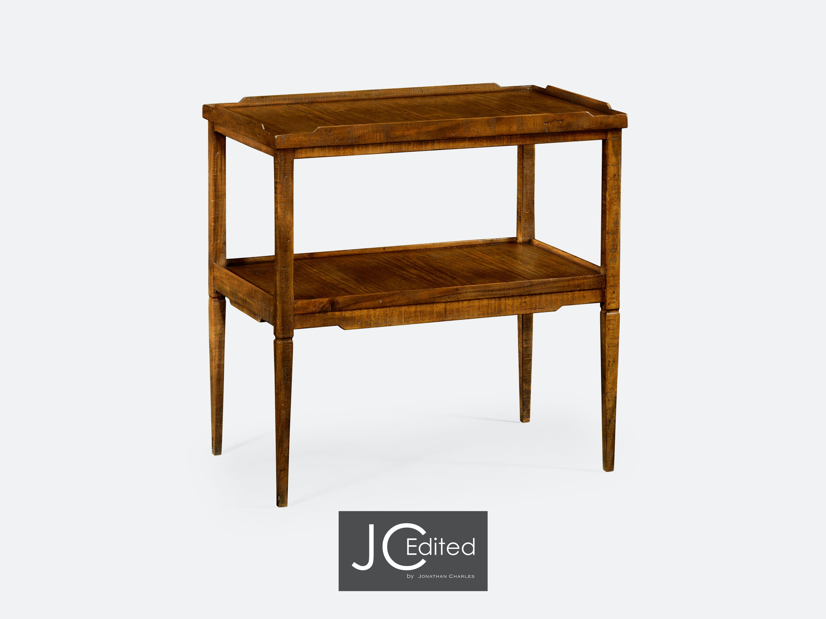 Ordinaire Jonathan Charles Walnut Country Style Side Table QJ491020CFW From Walter E.  Smithe Furniture + Design
