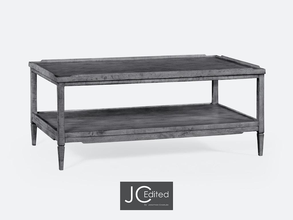 Brilliant Jonathan Charles Living Room Antique Dark Grey Coffee Table Qj491021Adg Walter E Smithe Furniture Design Machost Co Dining Chair Design Ideas Machostcouk