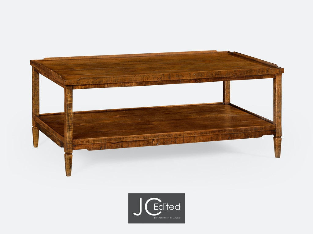 Astonishing Jonathan Charles Living Room Walnut Country Style Coffee Table Qj491021Cfw Walter E Smithe Furniture Design Ncnpc Chair Design For Home Ncnpcorg