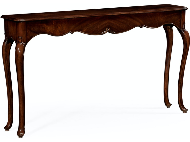 Jonathan Charles Console Table In Antique Mahogany 491029-MAH - Jonathan Charles Living Room Console Table In Antique Mahogany