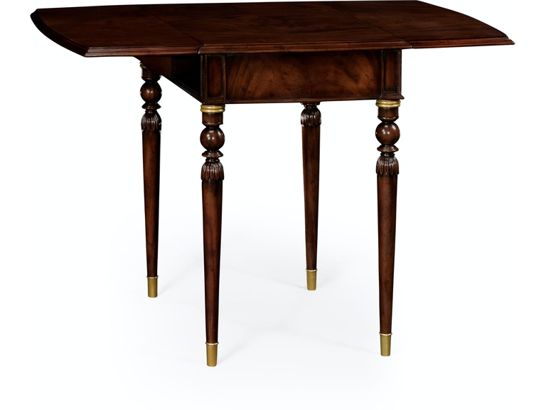 Jonathan Charles Pembroke Table In Antique Mahogany 491031-MAH - Jonathan Charles Dining Room Pembroke Table In Antique Mahogany