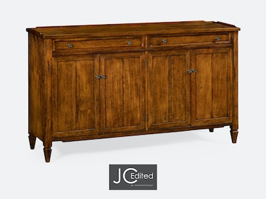 Jonathan Charles Four-Door Sideboard In Country Walnut 491042-CFW